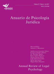 Anuario de Psicologia Juridica