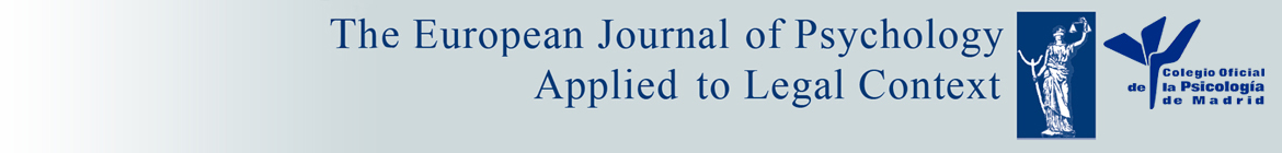 Head of The European Journal of Psychology Applied to Legal Context