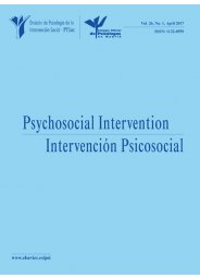 Psychosocial Intervention